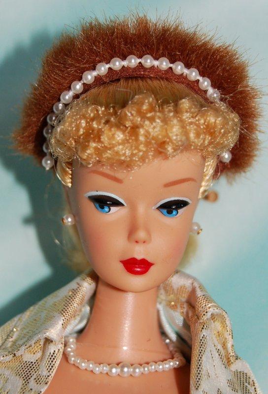 Barbie evening splendor 1959  reproduction