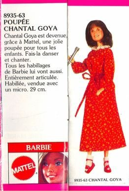 Barbie Chantal Goya 1980