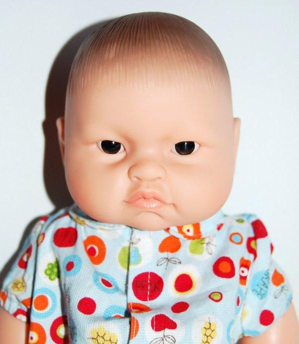 Bébé du monde corolle garcon asiatique 2011