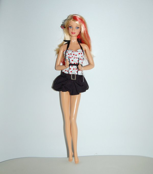 Barbie top model 2007