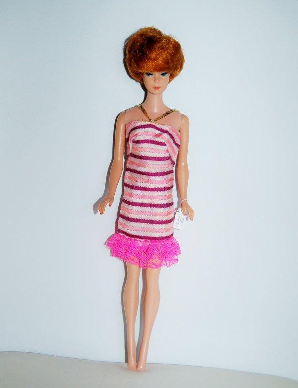 barbie tenue dancing stripes  #1843  1968