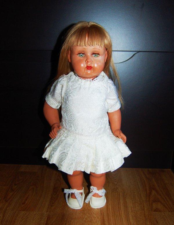 bella poupée rhodoid licence bonomi 1950