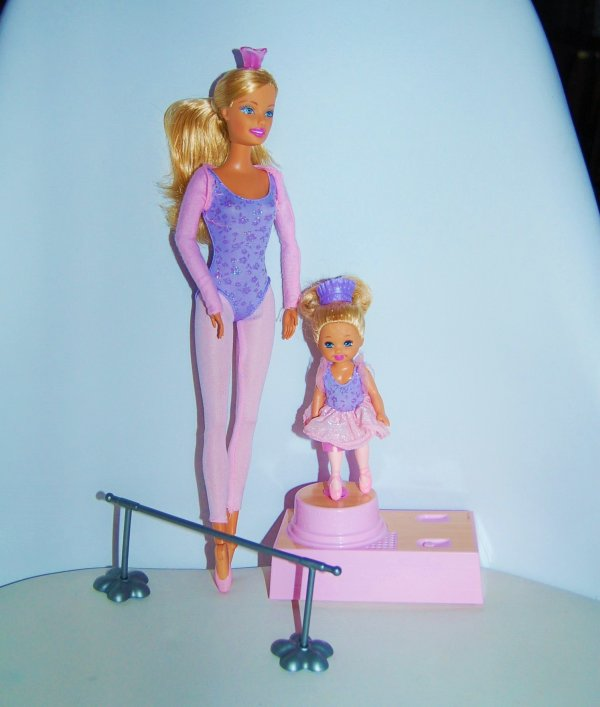 barbie et shelly ballerine 2005