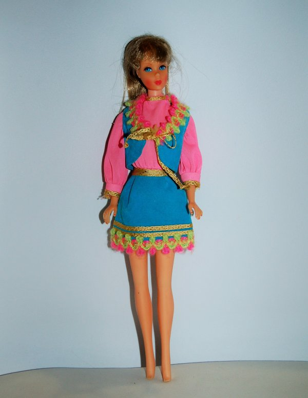 barbie tenue gypsy spirit  #1458  1970