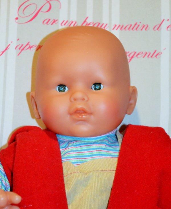 corolle bébé amour rose ou bébé amour week end 52 cm  2000