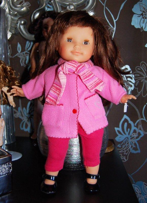 corolle amandine spécial Noël 36 cm 2005