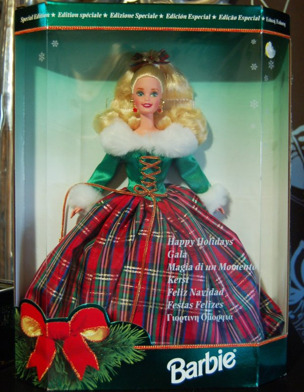 barbie happy holidays 1995