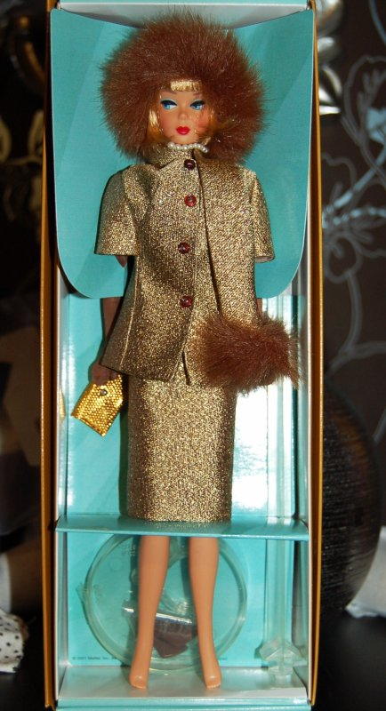 barbie gold 'n glamour 1965 reproduction