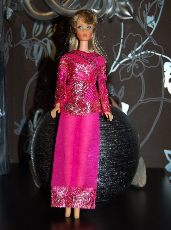 barbie tenue brigh'n brocade  #1786   1970-71