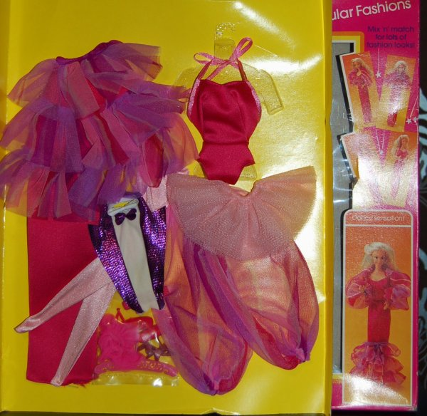 barbie tenue dance sensation  #7218  1983