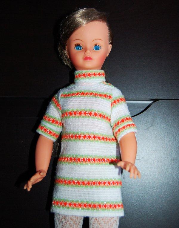 cathie robe inconnue de 1970