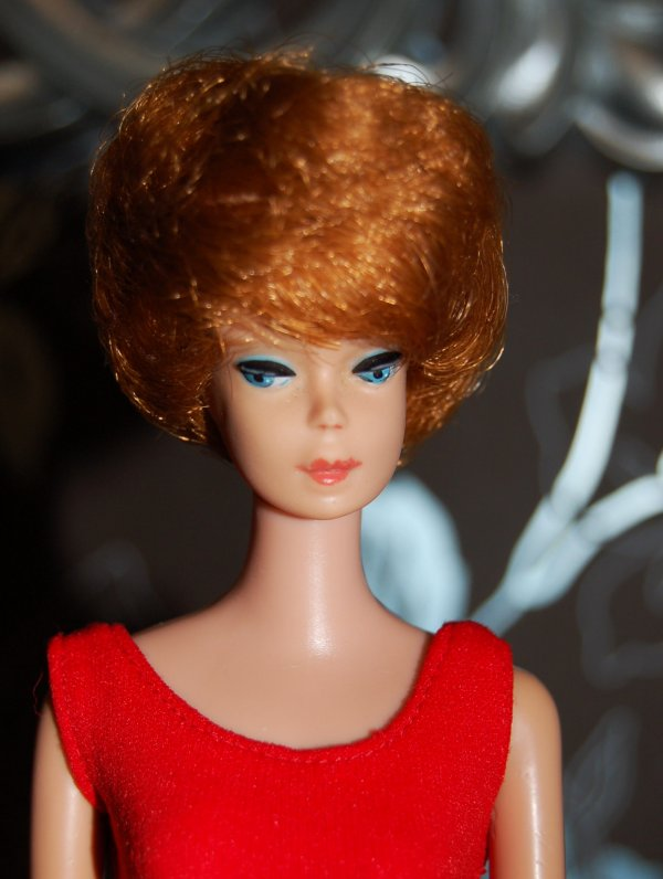 barbie bubble cut rousse 1964-65