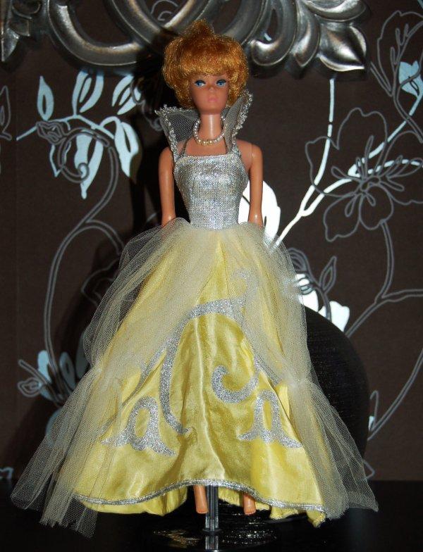 barbie tenue cinderella  #872  1964-65