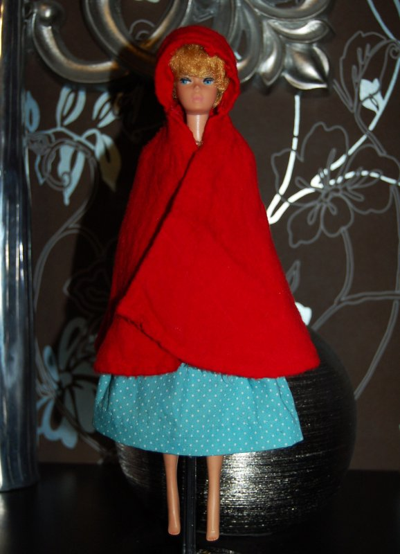 barbie little red riding hood and the wolf  #0880  1964