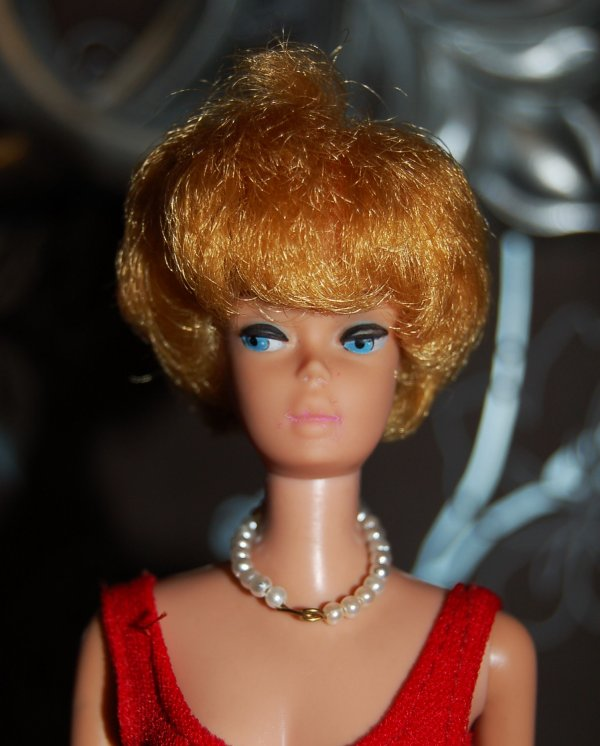 barbie bubble cut blonde 1964-65