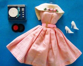 barbie tenue dancing doll  #1626  1965