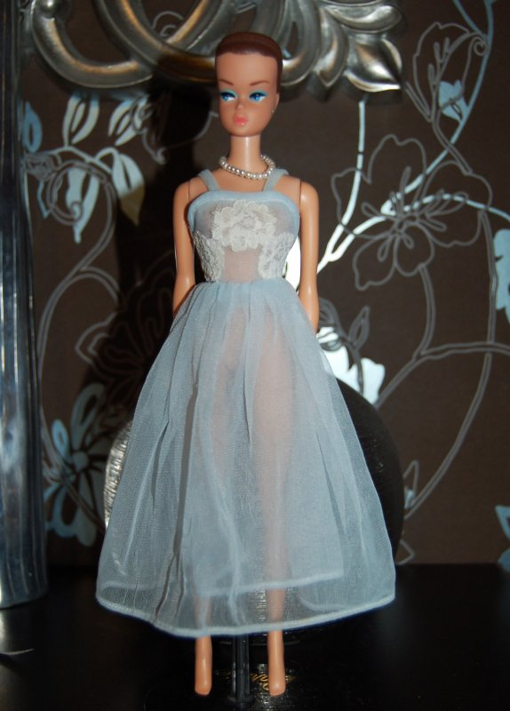barbie tenue sleeping pretty  #1636   1965