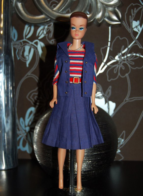 barbie tenue aboard ship  #1631  1965