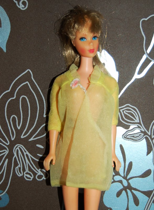 barbie tenue night clouds  #1841  1968