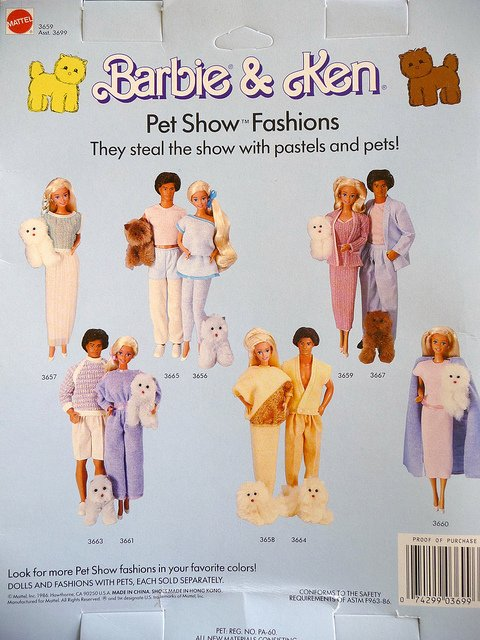 tenues petshow  1986