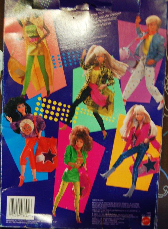 tenues rock stars  1986