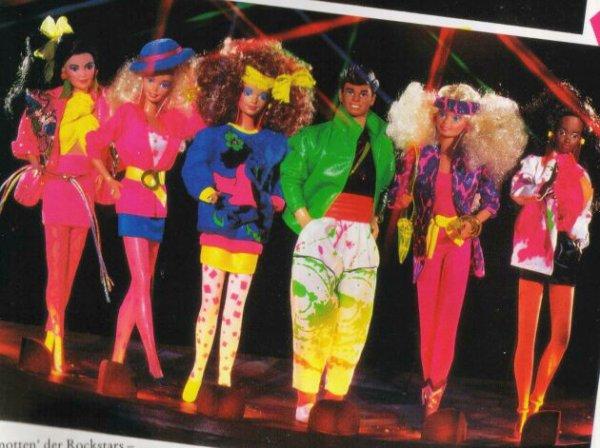 tenues rock stars 1985
