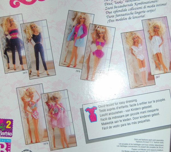 tenue barbie Fancy frills  #2977  1991