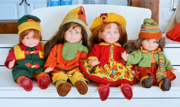 corolle Arthur, Nathalie, Alexandra et Noémie 1997