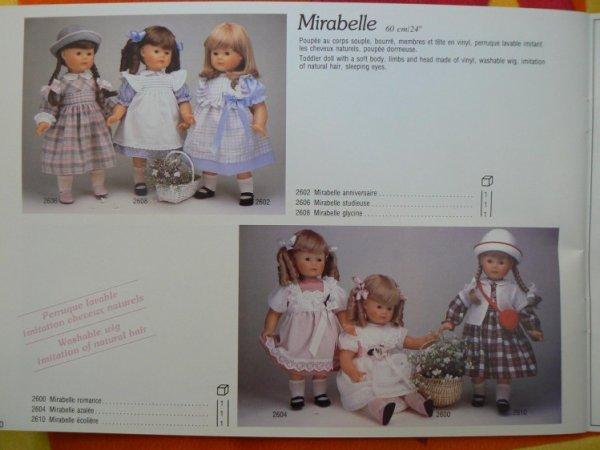 Corolle Mirabelle Azalée 1984  60 cm