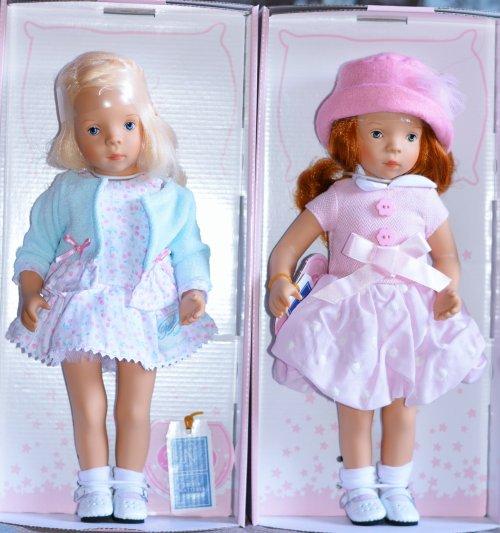 Petit Collin Minouche Natalie et Joêlle 34 cm