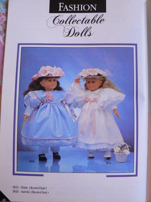 Corolle Diane et Aurélia 1989