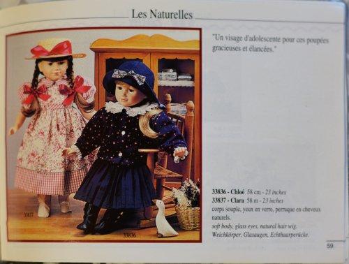 corolle chloé et clara 1993 58 cm
