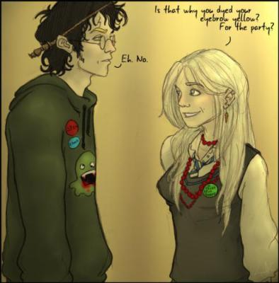 Harry Potter Et Luna Lovegood Le Bal De Noel Chez Slughorn Les
