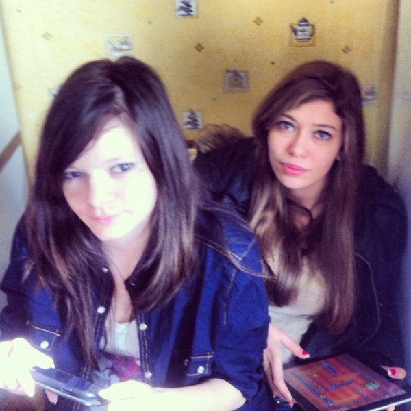 Gaëlle et Sarah ❤❤❤❤