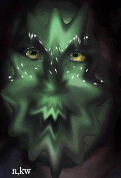 pour les mec quil vaut une photo de moi voici une creation realisé sur moi pour Halloween