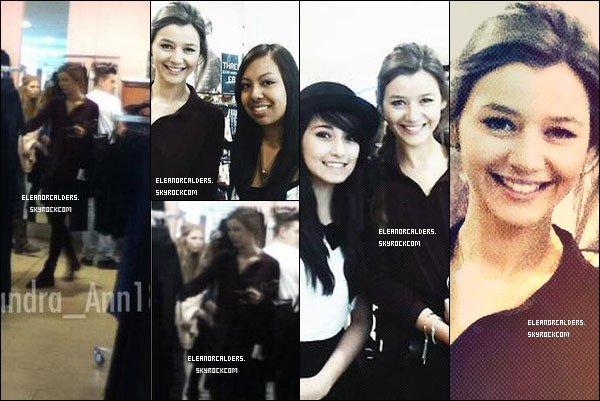 Le 28 Septembre 2013 ~ Eleanor a été aperçue à Topshop, faisant du shopping.