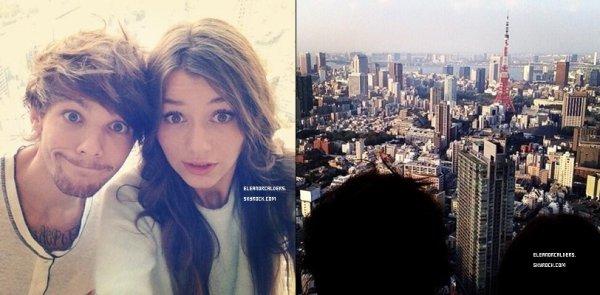 Le 01 Novembre 2013 ~ Eleanor était au concert des One Direction, à Tokyo.