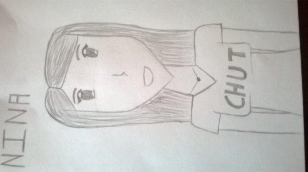 J'ai dessiné une amie