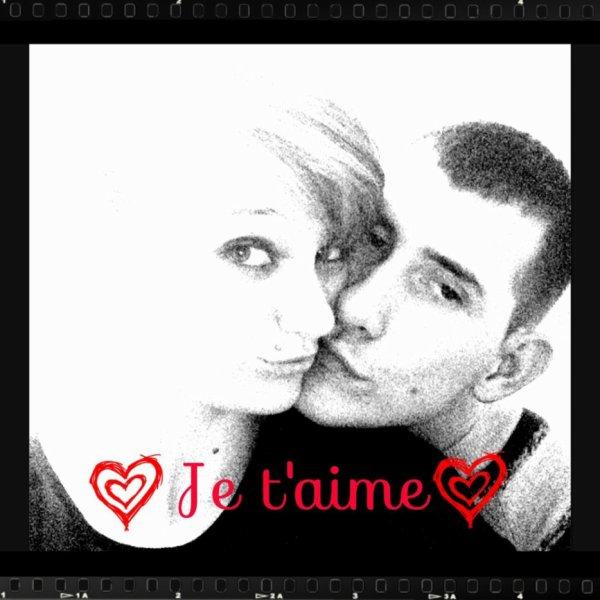 toi et moi c est pour la vie <3