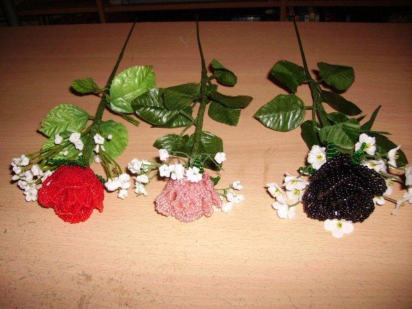Les 3 roses.