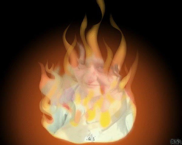 moi et le feu