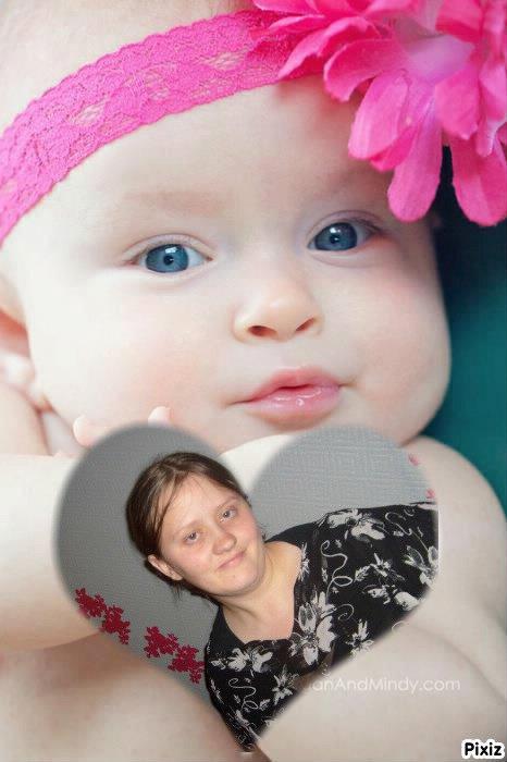 moi  et un bébé