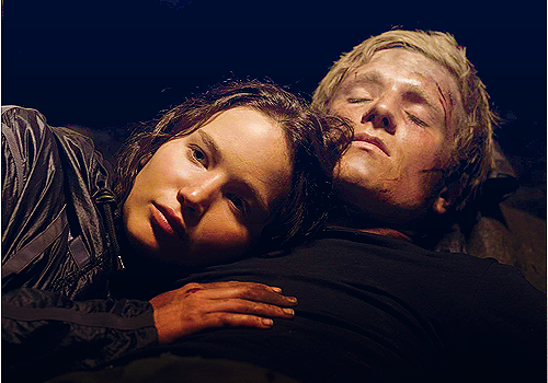 hunger games Katniss et Peeta