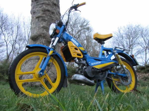Magnum 87 NL15 Bleu France