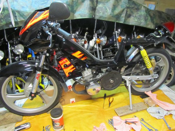 MBK 51 Magnum Racing XR Black Fire 1996 NU60