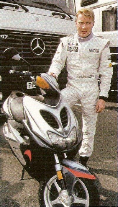 MBK Nitro F1 assistance Mercedes Mac Laren 1999