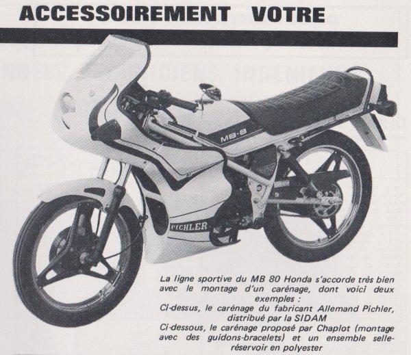 HONDA MB80 NH24 1980