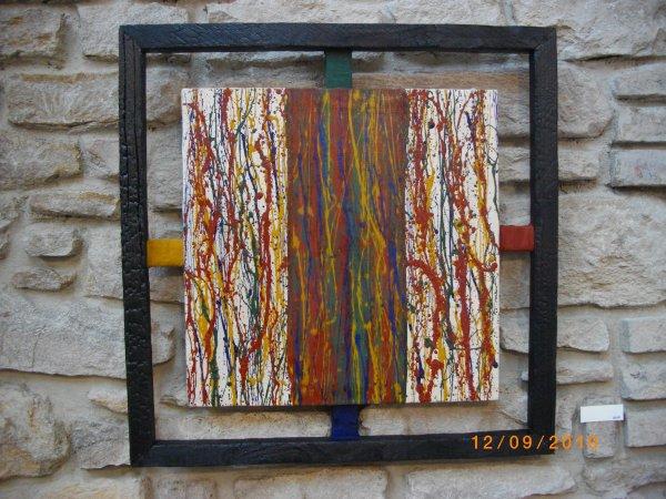 Couleurs brûlées, série de 12, 3 formats, 2012.