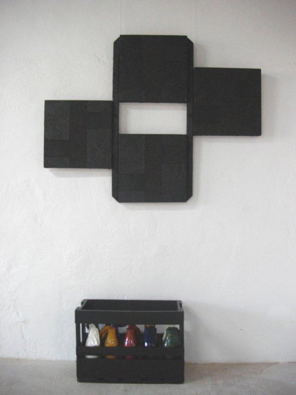 anarchie, série de 4 assemblages, 128x100, 4 formats différents, 2011.