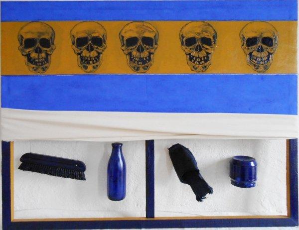Paysage, huile sur toile, 80x110, série de 12, 2009
